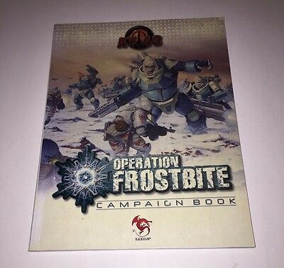 AT-43 Operation Frostbite Campaign Book Rackham Sci Fi Miniatures OOP