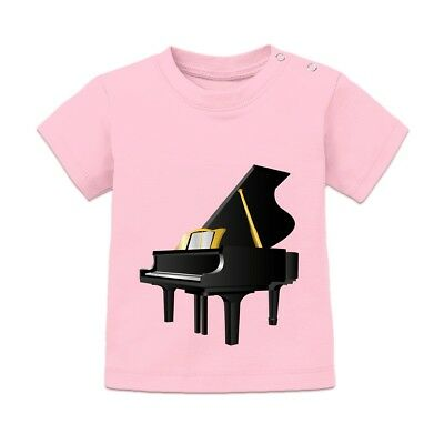 Piano Illustration Baby T-Shirt