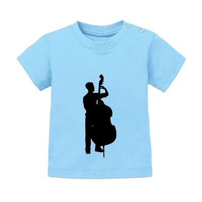 Contrabassist Male Baby T-Shirt