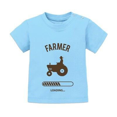 Farmer Loading Baby T-Shirt