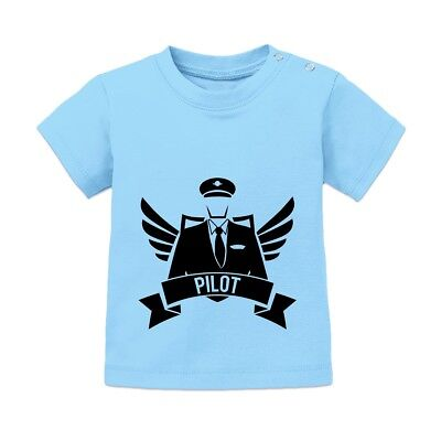 Pilot Winged Baby T-Shirt