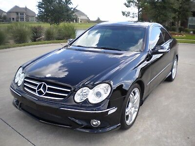 2008 Mercedes-Benz CLK-Class Coupe CLK550 2008 Mercedes CLK550 2dr COUPE 5.5 Liter V8  AUTOMATIC NO RESERVE