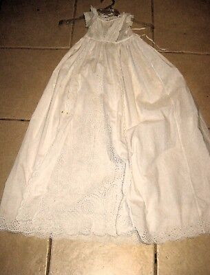 Vintage Heirloom Christening Robe