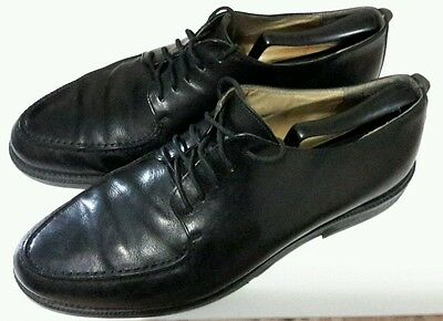 Kenneth Cole New York Lace Up oxford  shoes men's size 11 M Black leather