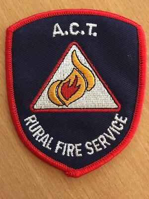 ACT Rural Fire Brigade Patch