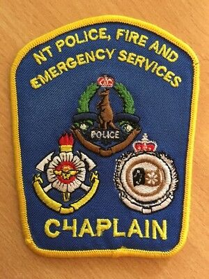 Northern Territory NT POLICE FIRE AND EMERGENCY SERVICES Chaplain Patch