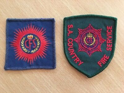 South Australia Country Fire Services Patches