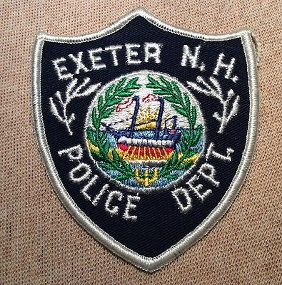NH Exeter New Hampshire Police Patch (4In)