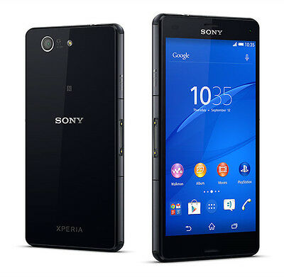 Sony Xperia Z3 Compact D5803, 16GB, Schwarz (Unlocked) Android Smartphone