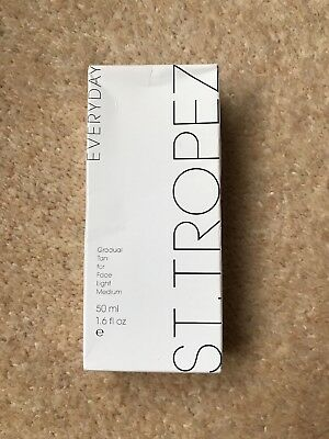 St Tropes gradual tan for Face Light Medium 50ml