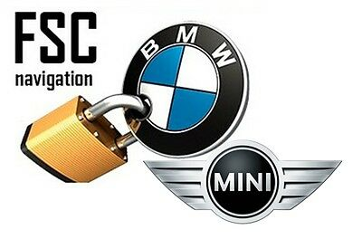 Bmw Mini Lifetime Fsc Code - Cic & Nbt Navigation Gps (100% Guaranteed)