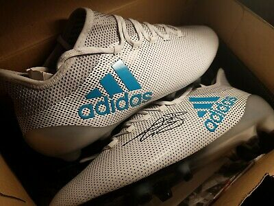 Gareth Bale signed X17.1 Ocean Storm Boots