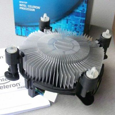 New CPU Cooling Cooler Heatsink with Fan For Intel Socket LGA775 1156 1155 1151