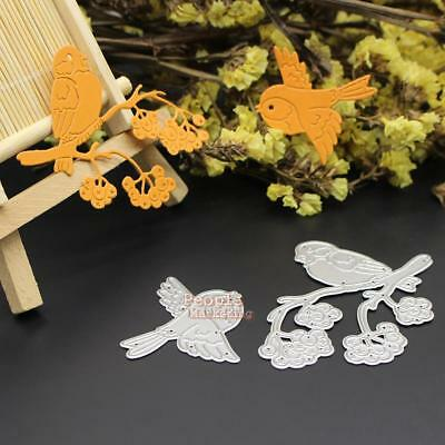 Bird Metal Cutting Dies Stencil Scrapbook Paper Card Craft Embossing DIY Die-Cut
