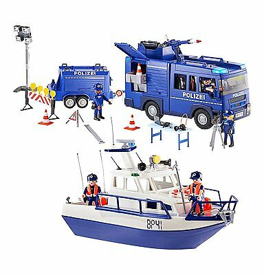 Playmobil - City Action - 9400 - Bundespolizei Großeinsatz - NEU OVP