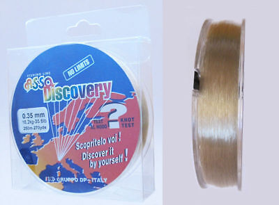 Asso Discovery Coated Fluorocarbon Fishing Line 250 m Spools Pike Carp New