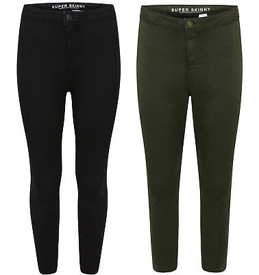 Ladies Ex Famous Store Super Skinny Jeggings 8605 Added Stretch 6 Colours 6-28