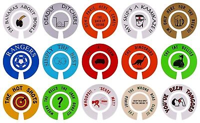 ACCLAIM Self Adhesive Comic Bowls Bowlers Stickers Sold In Sets Self Adhesive
