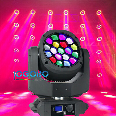 19x15W OSRAM Leds RGBW Vortex Moving Head with Art Net System Similar B-EYE K10