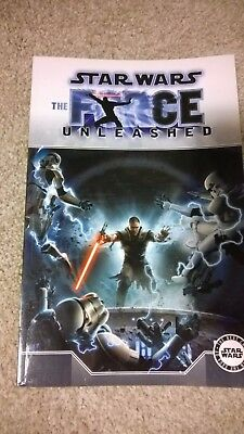 Star Wars The Force Unleashed graphic novel adaptation comic