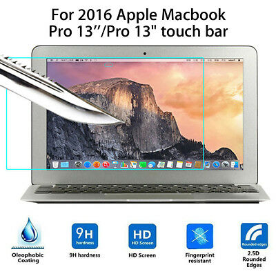 Tempered Glass Screen Protector For 2016 Apple Macbook Pro 13'' / Touch Bar