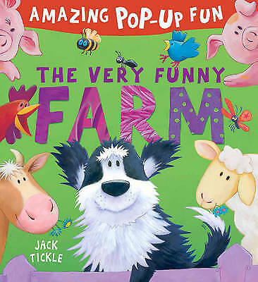 The Very Funny Farm Pop-Up Book By Jack Tickle