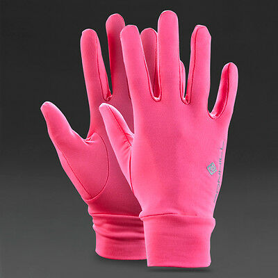 RONHILL Classic Unisex PINK Running Breathable Warm Lightweight Gloves Large