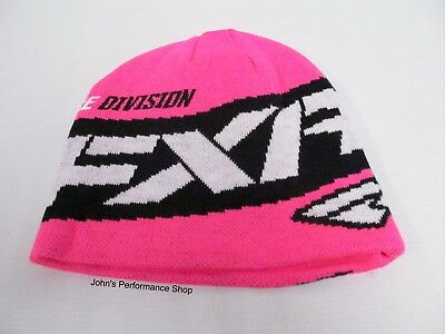 FXR Electric Pink Podium Beanie Hat One Size Fits Most 171615-9400-00