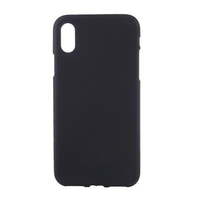 coque iphone x noir silicone