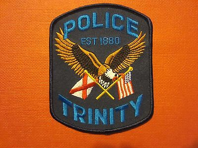 Collectible Alabama Police Patch Trinity New