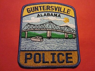 Collectible Alabama Police Patch, Guntersville, New