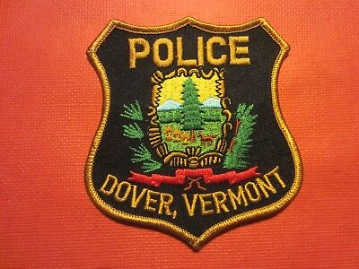 Collectible Vermont Police Patch, Dover, New