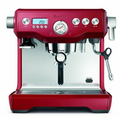 Breville BES920CBXL Dual Boiler Espresso Machine, Cranberry Red BES920 BRAND NEW