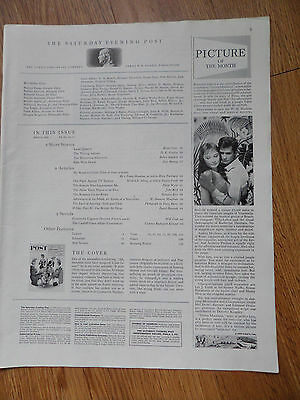 1959 Movie Picture of the Month Ad Green Mansions Audrey Hepburn Cobb Silva
