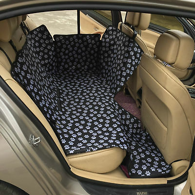 Luxury Waterproof Dog Car Seat Covers Pet Rear Back Seat Cover for Cars