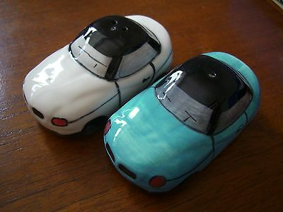 Bmw Style Car Salt And Pepper Set Novelty Gift