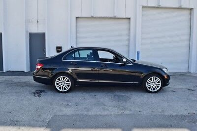 2008 Mercedes-Benz C-Class  2008 MERCEDES C-300 BLACK ON BLACK BEST DEAL ON EBAY