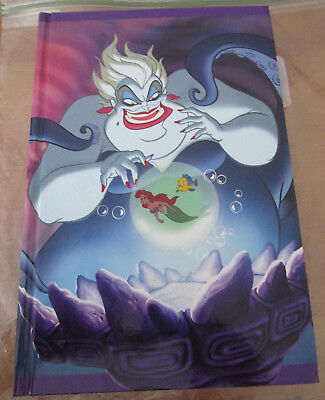 Collectible Disney Villains Ursula Journal The Little Mermaid