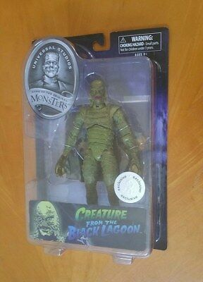 Famous Universal Studios Monsters CREATURE from the BLACK LAGOON Action Figure