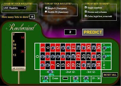 GENIUS 2017 software system to win at any roulette (RNG and online roulette)