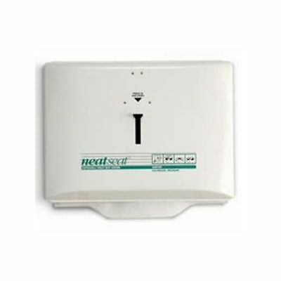 Hospeco Neatseat Toilet Seat Cover Dispenser, White , 1 Each