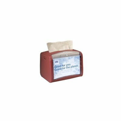 SCA Tork Xpressnap Table Top Napkin Dispenser, Chili, 1 Each