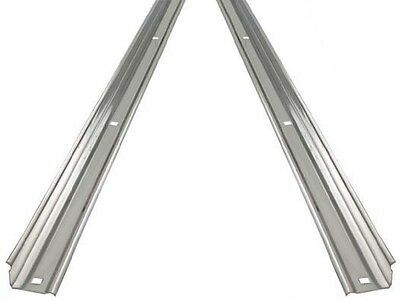 Unpolished Stainless Angle Strips Ford 1965 - 1972 Short Flareside Stepside