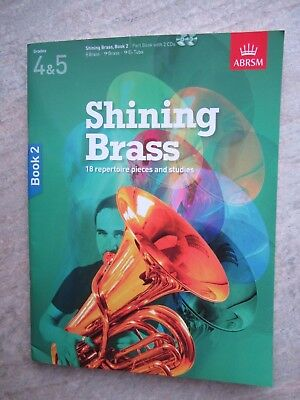 Shining Brass book 2, part book with 2 CDs *NEW* Publisher ABRSM