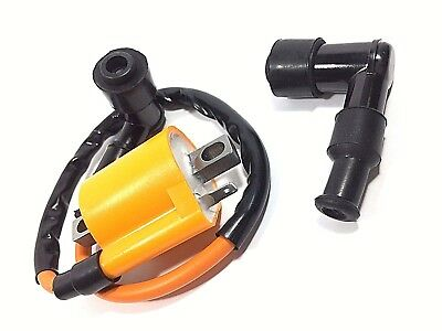 Performance Ignition Coil Yamaha Zuma 50 Yw50 Scooter 2001 - 2005 Extra Cap
