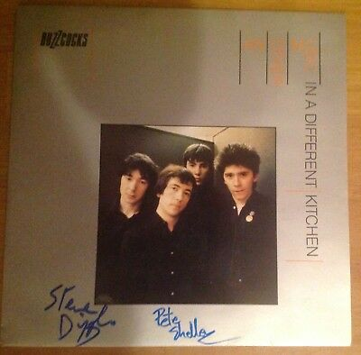 The Buzzcocks Another Music In A Different Kitchen Autographed And Ex Condition