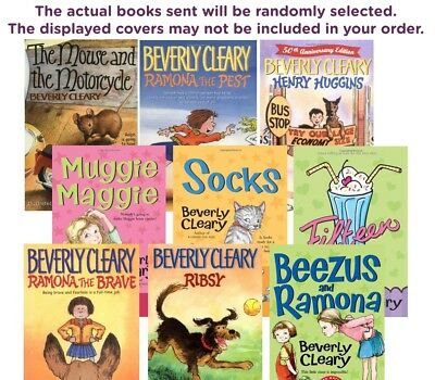 FIVE-PACK BUNDLE/LOT OF BEVERLY CLEARY CHILDREN'S BOOK - Paperbacks