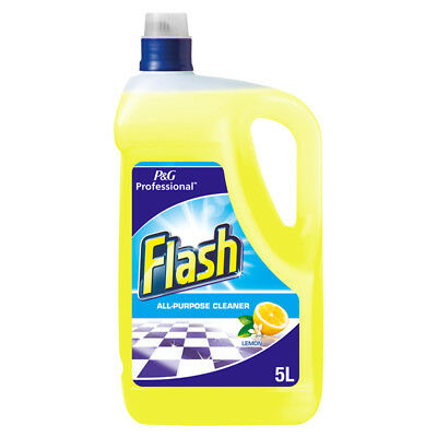 Flash Lemon All Purpose Hard Surface Cleaner - 5L
