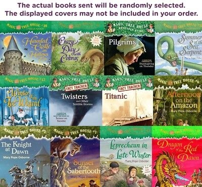 FIVE-PACK BUNDLE / LOT OF MAGIC TREE HOUSE BOOKS  Paperbacks - Mary Pope Osborne