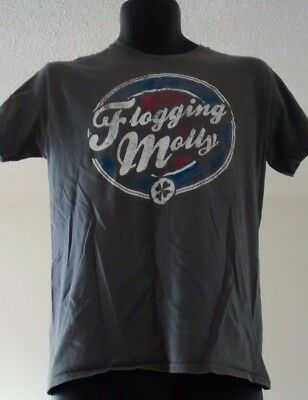 Flogging Molly 97 T Shirt Gray Size M